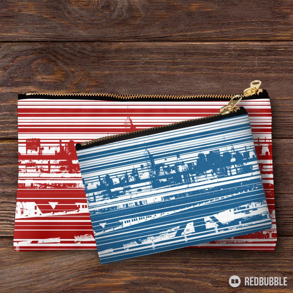 Stripes NY - Tasche zwei